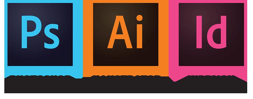 Formation aux Logiciels Photoshop, Illustrator et Indesign